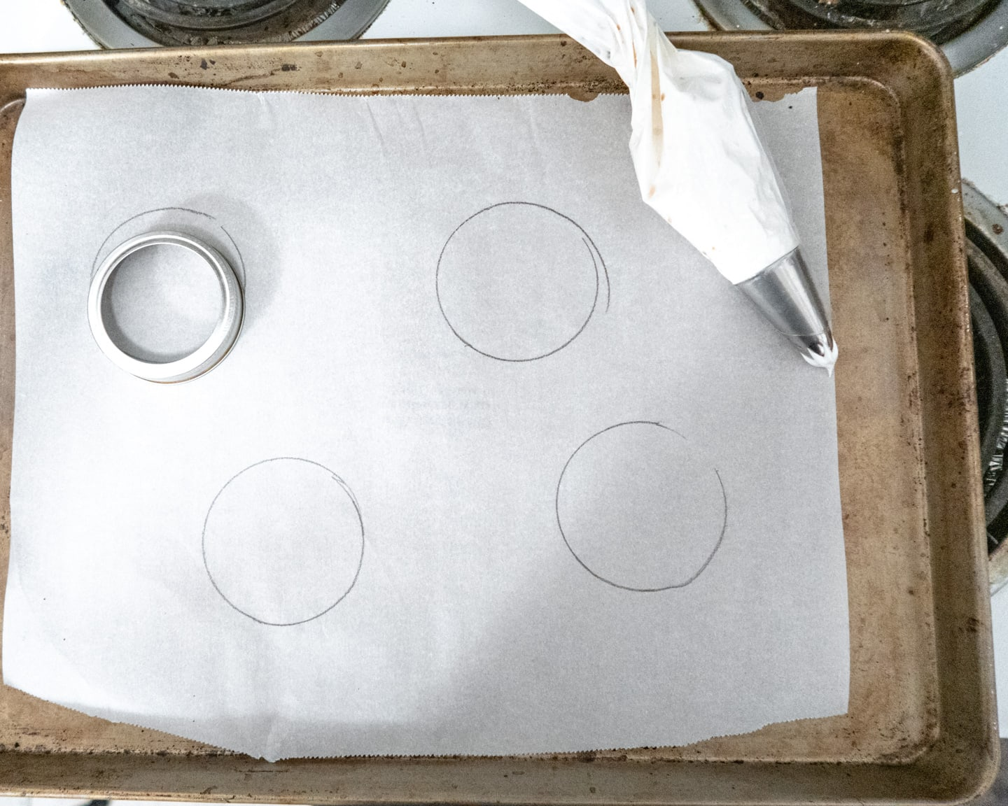 making a template with amassonjar ring